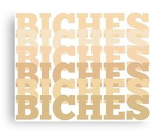 BICHES Forehead Color Edition Canvas Print