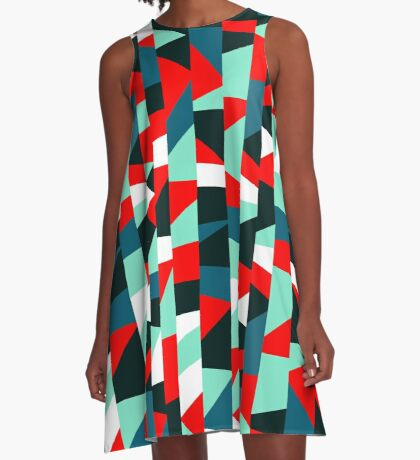 Abstract 190513 A-Line Dress