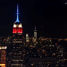 Empire State Building at Night, New York by JMChown