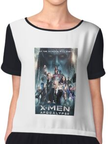 x men apocalypse movie Chiffon Top