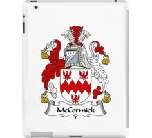McCormick Coat of Arms / McCormick Family Crest iPad Case/Skin