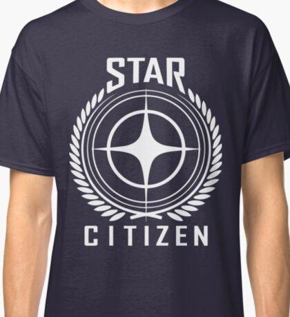Star Citizen Crest Emblem Classic T-Shirt