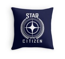 Star Citizen Crest Emblem Throw Pillow