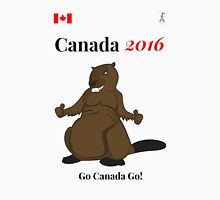 Rio Olympics 2016 Team Canada shirts designed by Canadians. Unisex T-Shirt
