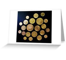 Mexican Gold / Oro Mexicano Greeting Card