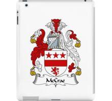McCrae Coat of Arms / McCrae Family Crest iPad Case/Skin