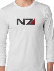 Mass Effect Commander Shepard Long Sleeve T-Shirt