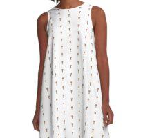 Winkin' Wanda A-Line Dress