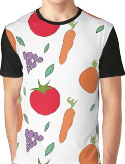 vegetables & fruits Graphic T-Shirt