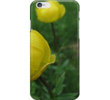 Yellow Flourish iPhone Case/Skin