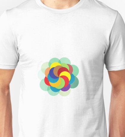 coloured circles Unisex T-Shirt