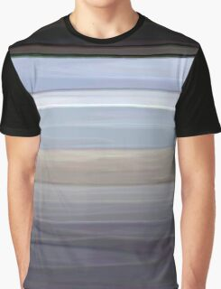 Painted Pompey Beach Graphic T-Shirt