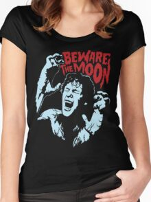 Beware The Moon Women's Fitted Scoop T-Shirt