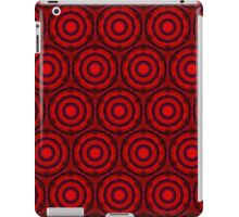 Red Circles iPad Case/Skin