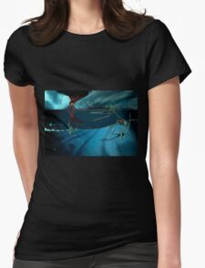 A Gloom of Duralumin Dragons Womens Fitted T-Shirt