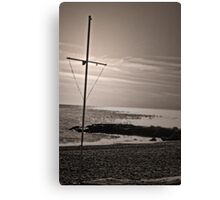 A not usual faith Canvas Print