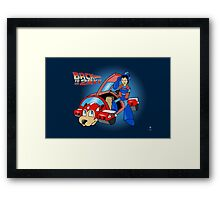 Back to 20XX Framed Print