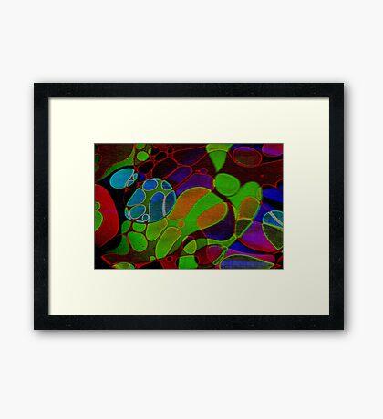 Psychedelic Spectrum I Framed Print