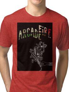 Arcade Fire Logos Tri-blend T-Shirt