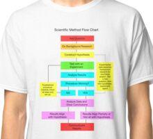 Scientific Method Flow Chart Classic T-Shirt