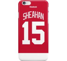 Detroit Red Wings Riley Sheahan Jersey Back Phone Case iPhone Case/Skin