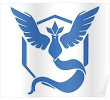 Pokemon Go! - Team Mystic emblem Poster