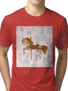Carousel Horse Tri-blend T-Shirt