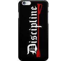 Discipline, BDSM whip iPhone Case/Skin