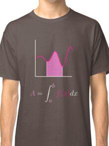 Area Under Curve Classic T-Shirt