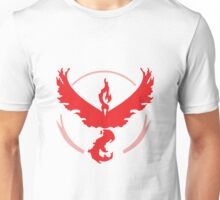 Pokemon Go! - Team Valor emblem Unisex T-Shirt