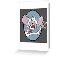 Pinky Greeting Card