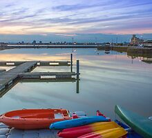 New Brighton Boating Lake by Paul Madden