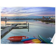 New Brighton Boating Lake Poster