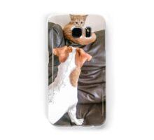 A rude awakening! Samsung Galaxy Case/Skin