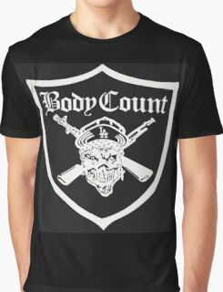 Body Count - Black Graphic T-Shirt