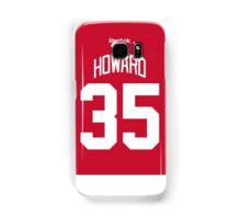 Detroit Red Wings Jimmy Howard Jersey Back Phone Case Samsung Galaxy Case/Skin