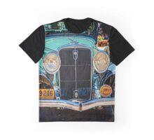 Blue Studebaker Graphic T-Shirt