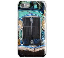 Blue Studebaker iPhone Case/Skin