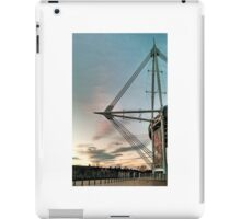 Cardiff's Principality Stadium at dusk iPad Case/Skin
