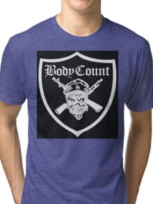 Body Count - Black Tri-blend T-Shirt