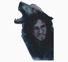 Jon Snow and Ghost by potmasiero94