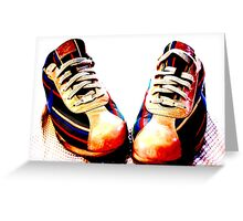 Custom Kicks, Nike Greeting Card