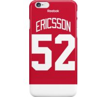 Detroit Red Wings Jonathan Ericsson Jersey Back Phone Case iPhone Case/Skin