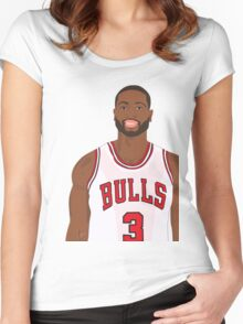 D-Wade! Women's Fitted Scoop T-Shirt