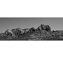 Sedona Arizona Panorama II BW Photographic Print