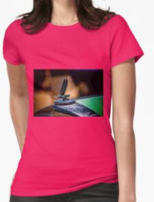Studebaker Hood Ornament Womens Fitted T-Shirt