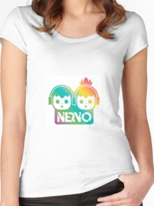 Nervo Logo Women's Fitted Scoop T-Shirt