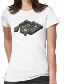 Isometric CS:GO Train Map Womens Fitted T-Shirt