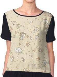 Snailstorm - Antique Chiffon Top