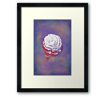 Painted Rose - Rectangular Image Framed Print